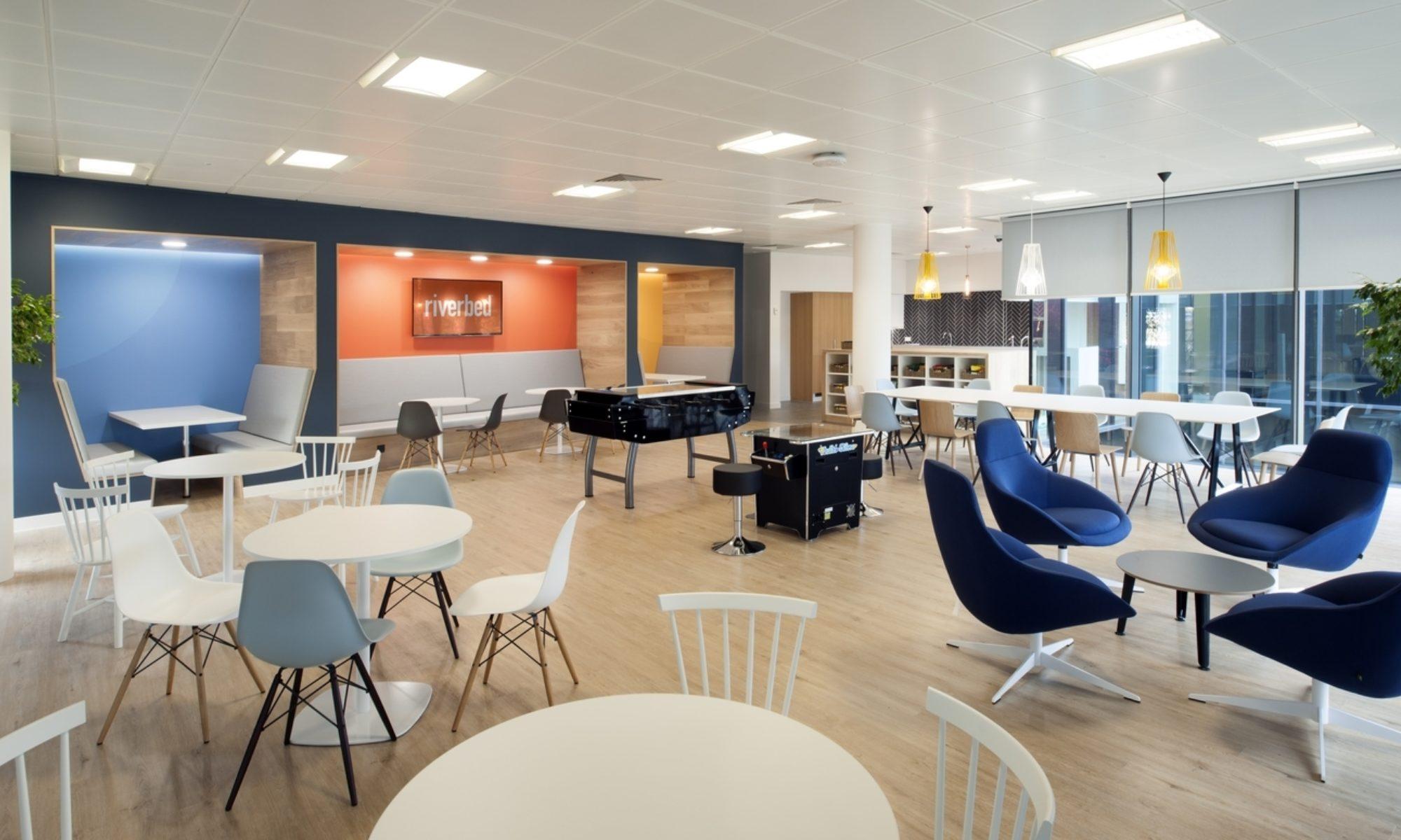 Riverbed office refurbishment ideas