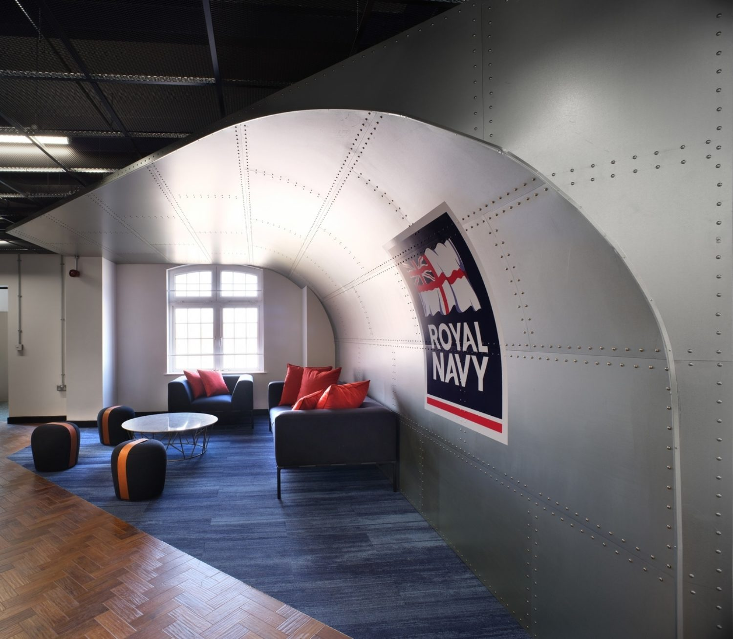 Royal Navy flexible office design