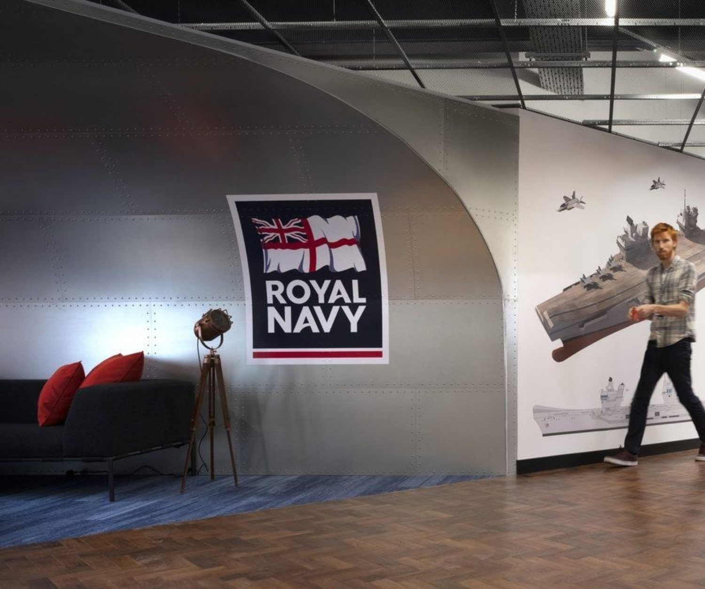 Royal Navy felixible working space