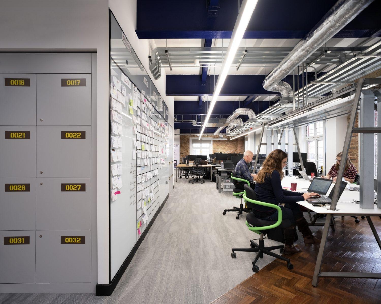 Royal Navy open plan office ideas