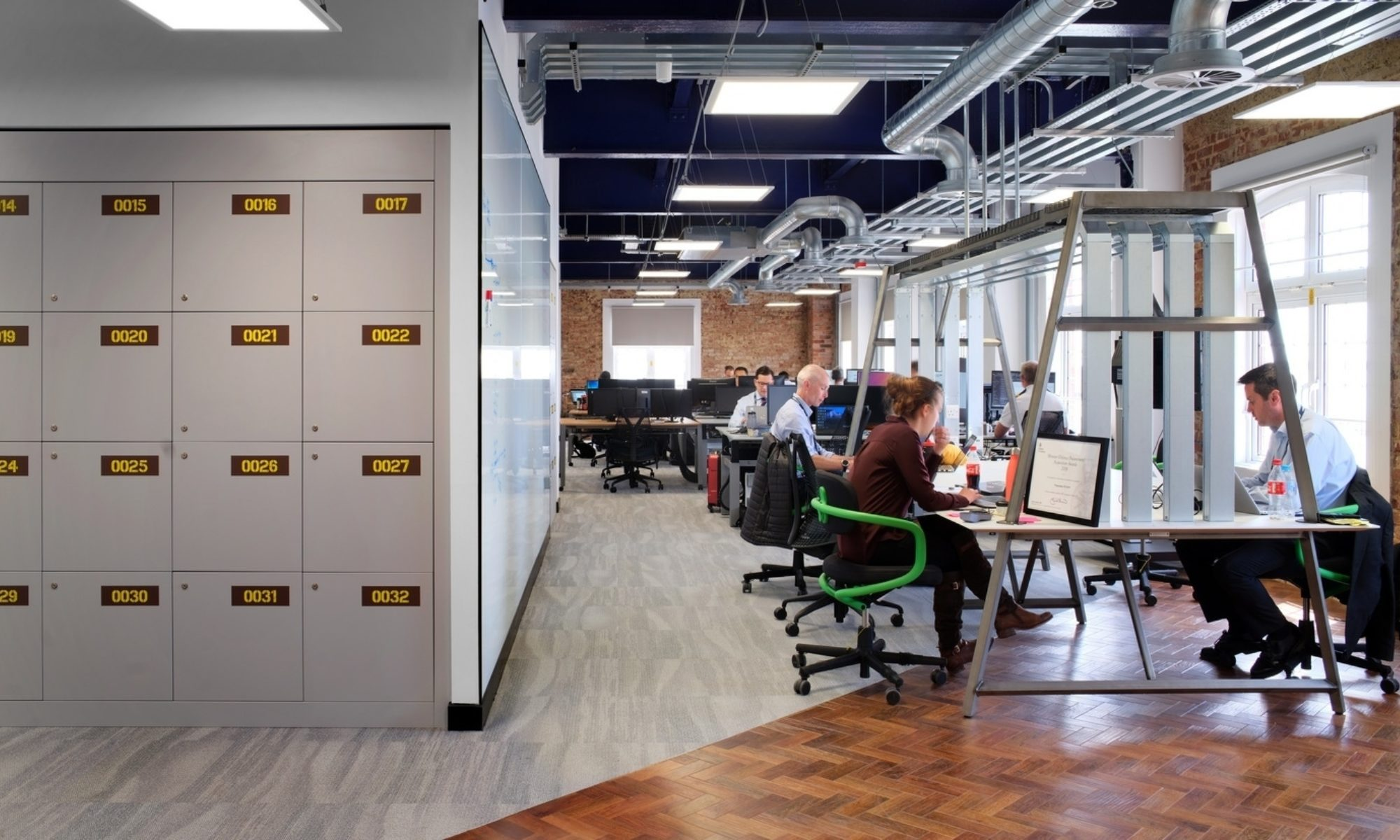 Open plan office designed for engagement