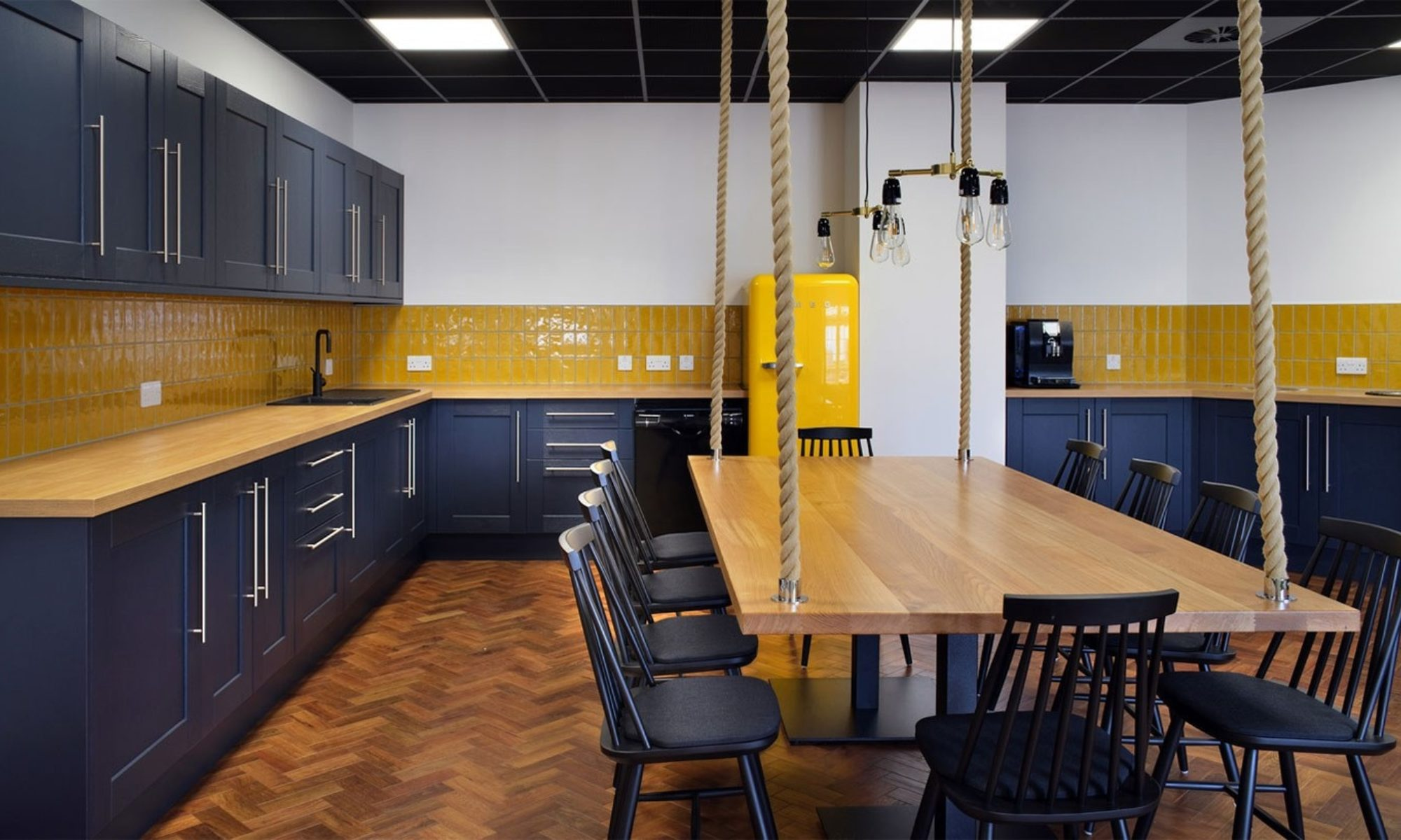 Royal Navy office kitchen design