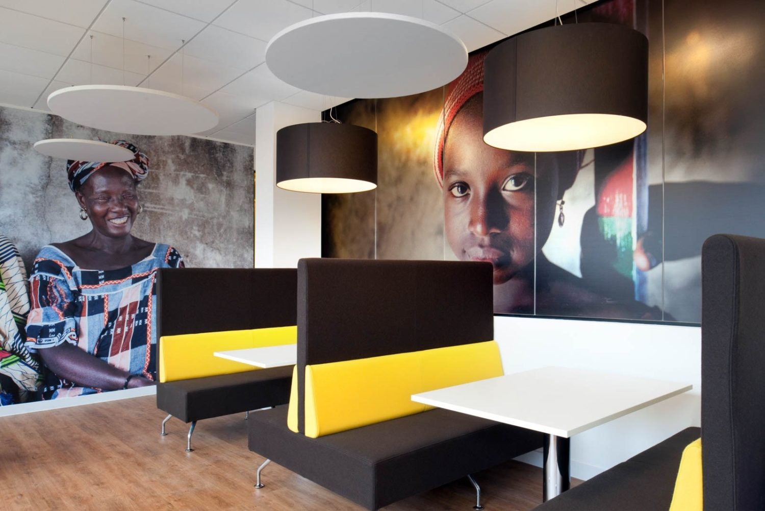 Sightsavers office cafe design