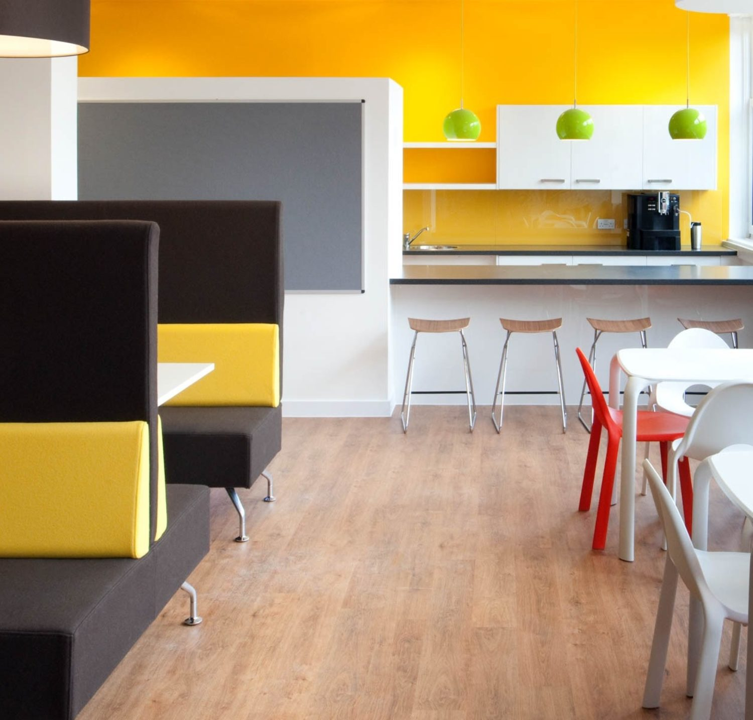 Sightsavers office kitchen fit out