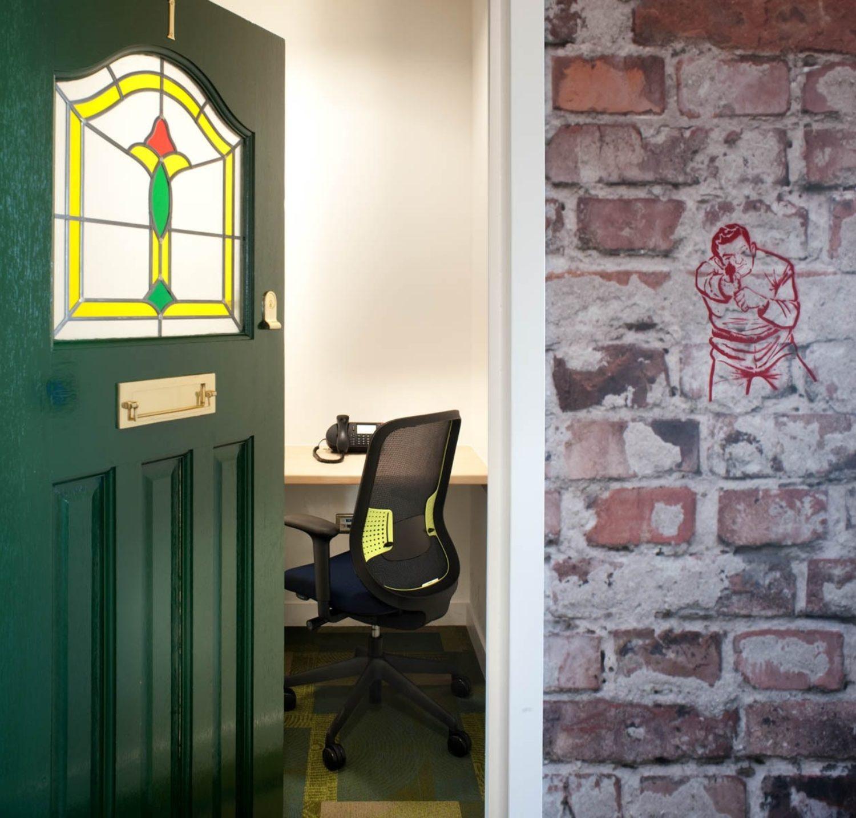 Splunk cool office pod