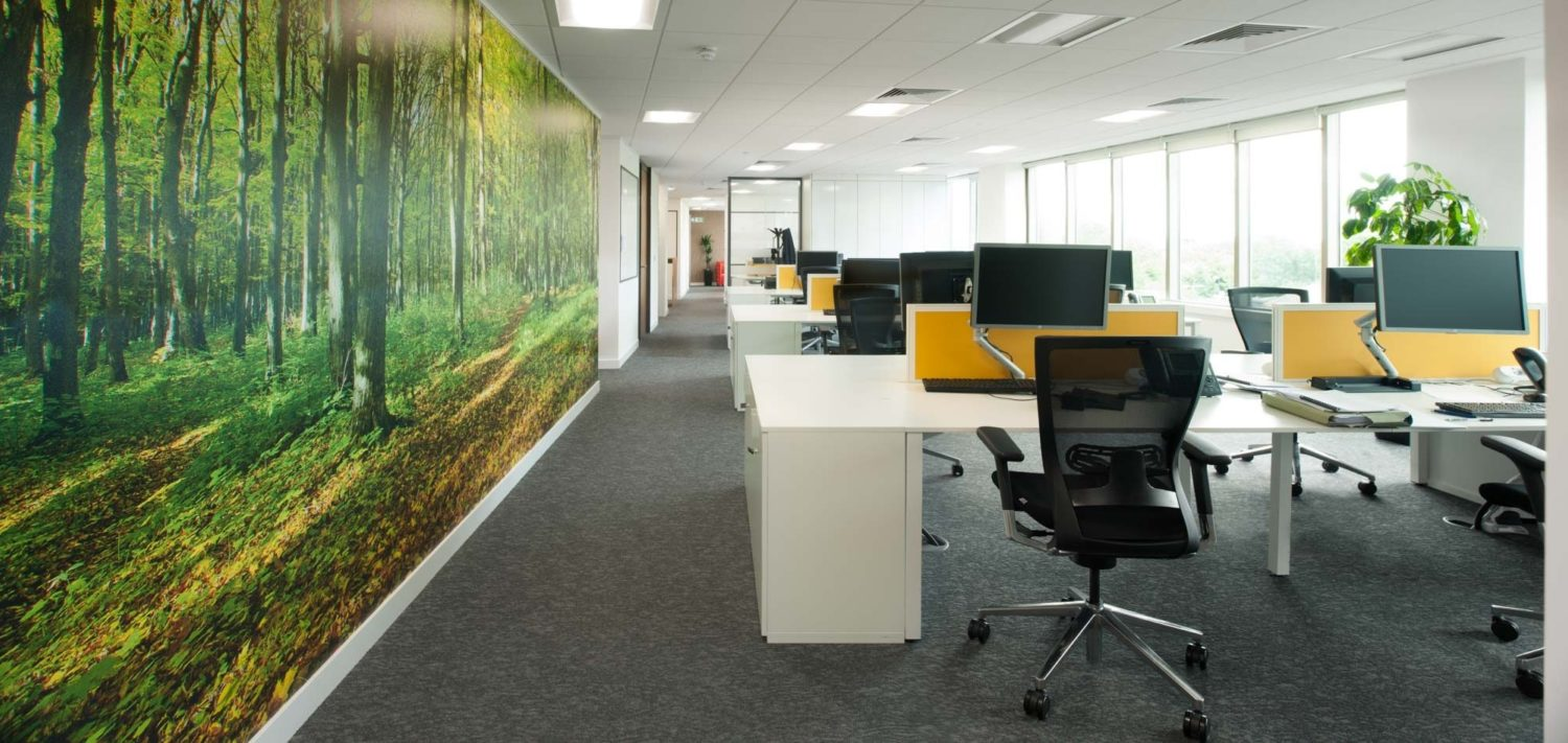 Suez office refurbishment to improve employee engagement