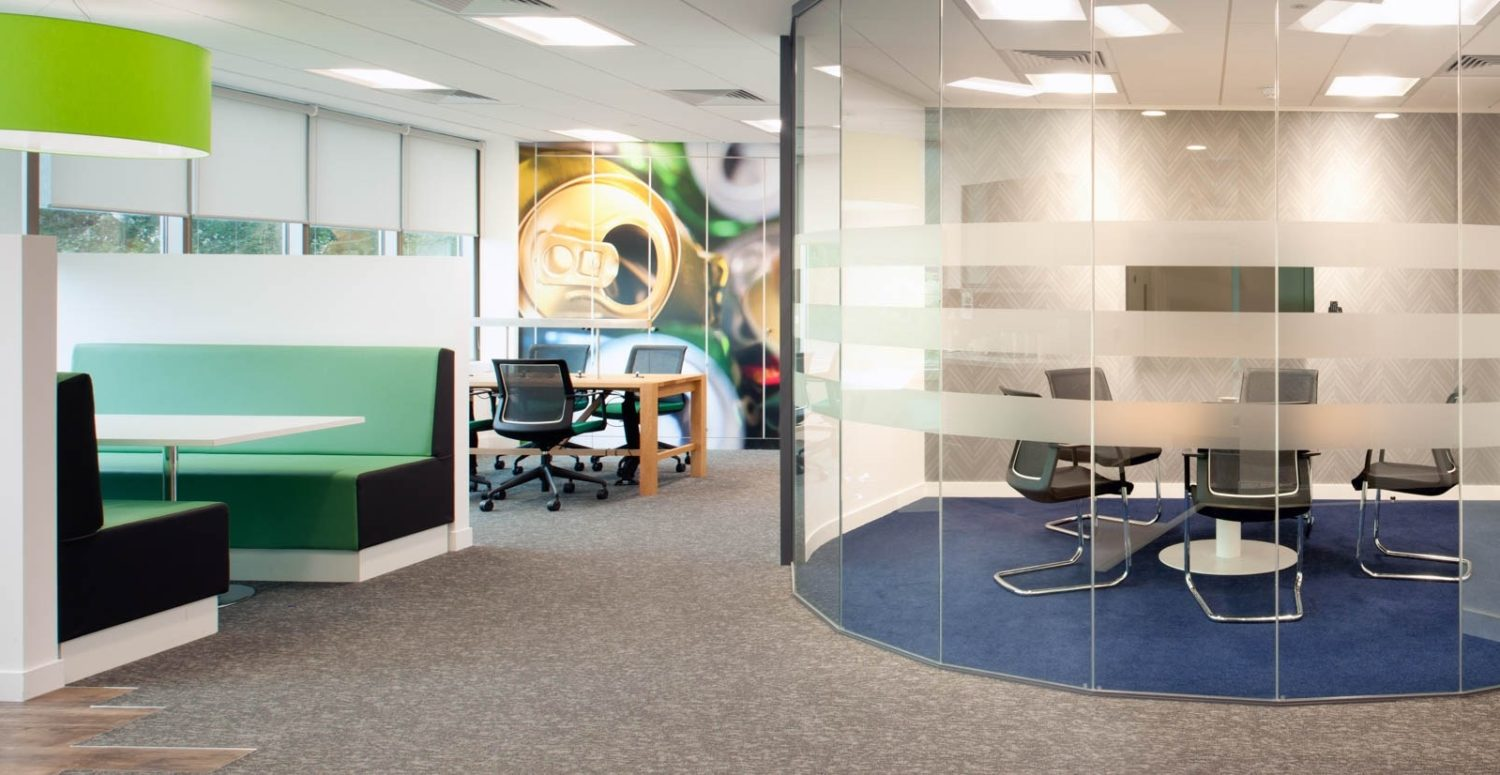Suez sustainable office fit out