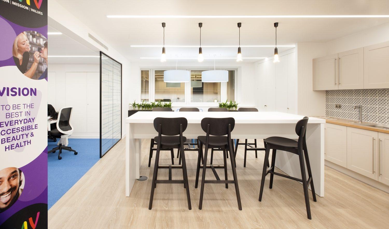 Superdrug breakout workspace design
