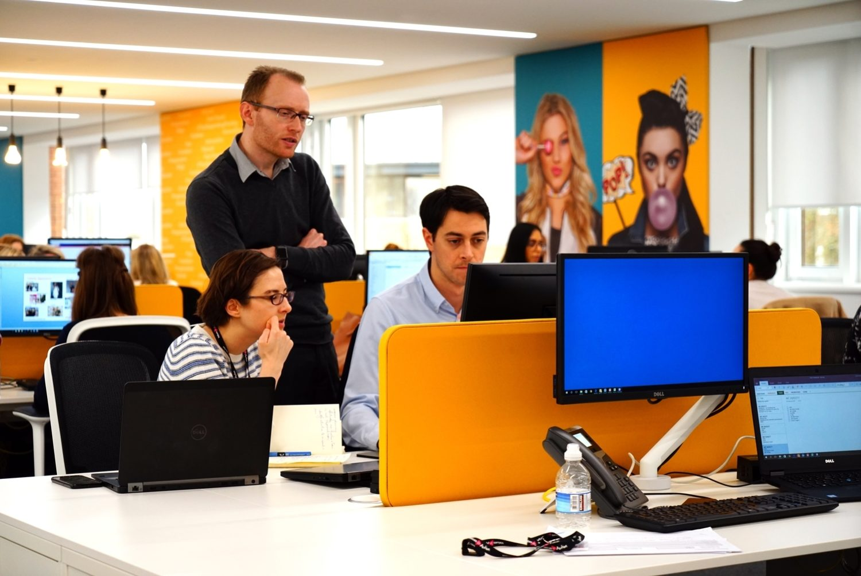 Superdrug workspace design