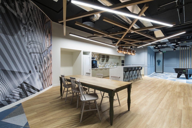 Symantec fun office breakout area