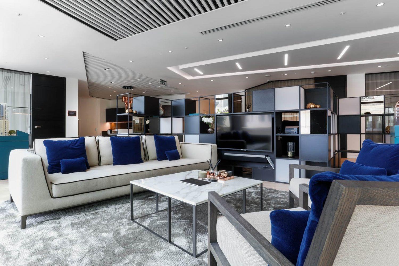 Plush office furniture