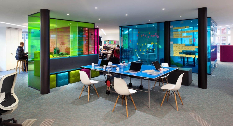 cool modern office interior design