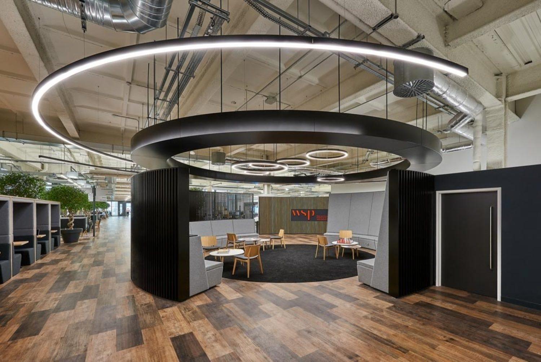 Innovative office design with biophilia