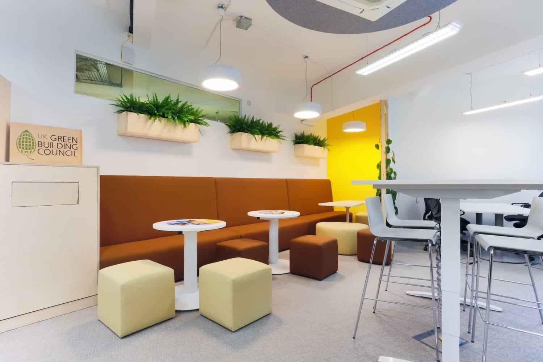 UK Green Building Council breakout area