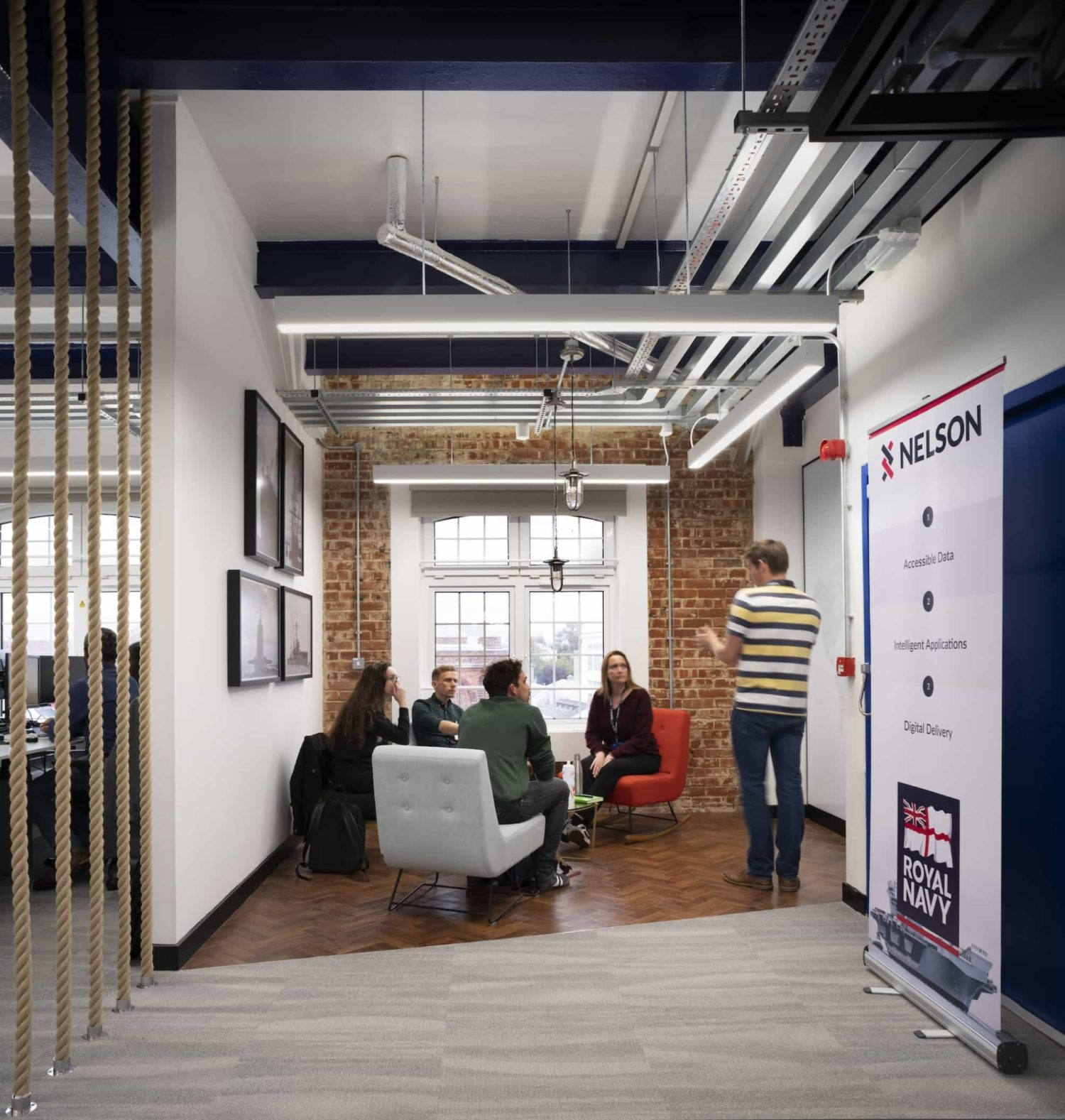 Royal Navy breakout space