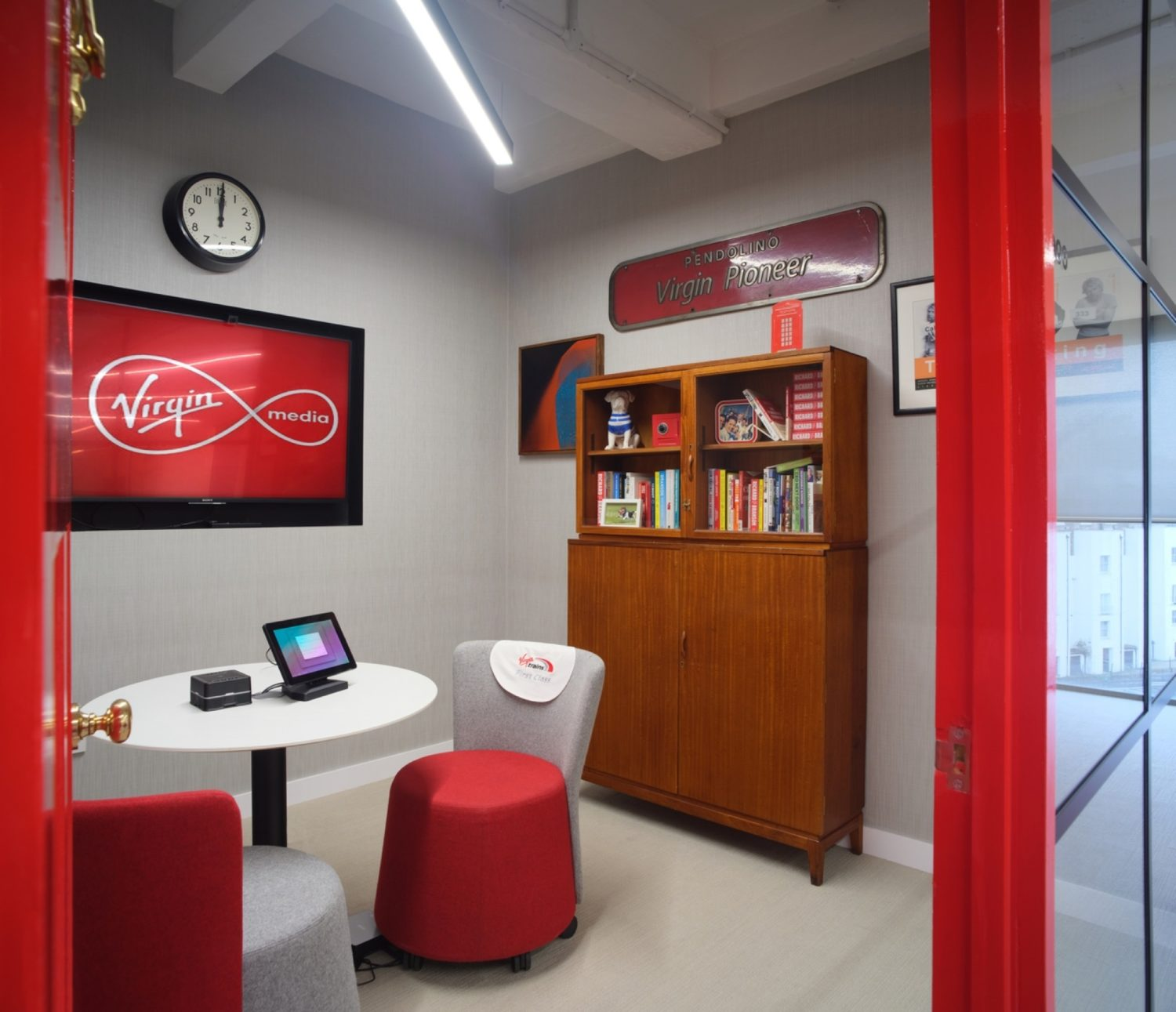 Breakout space designed for collaboration