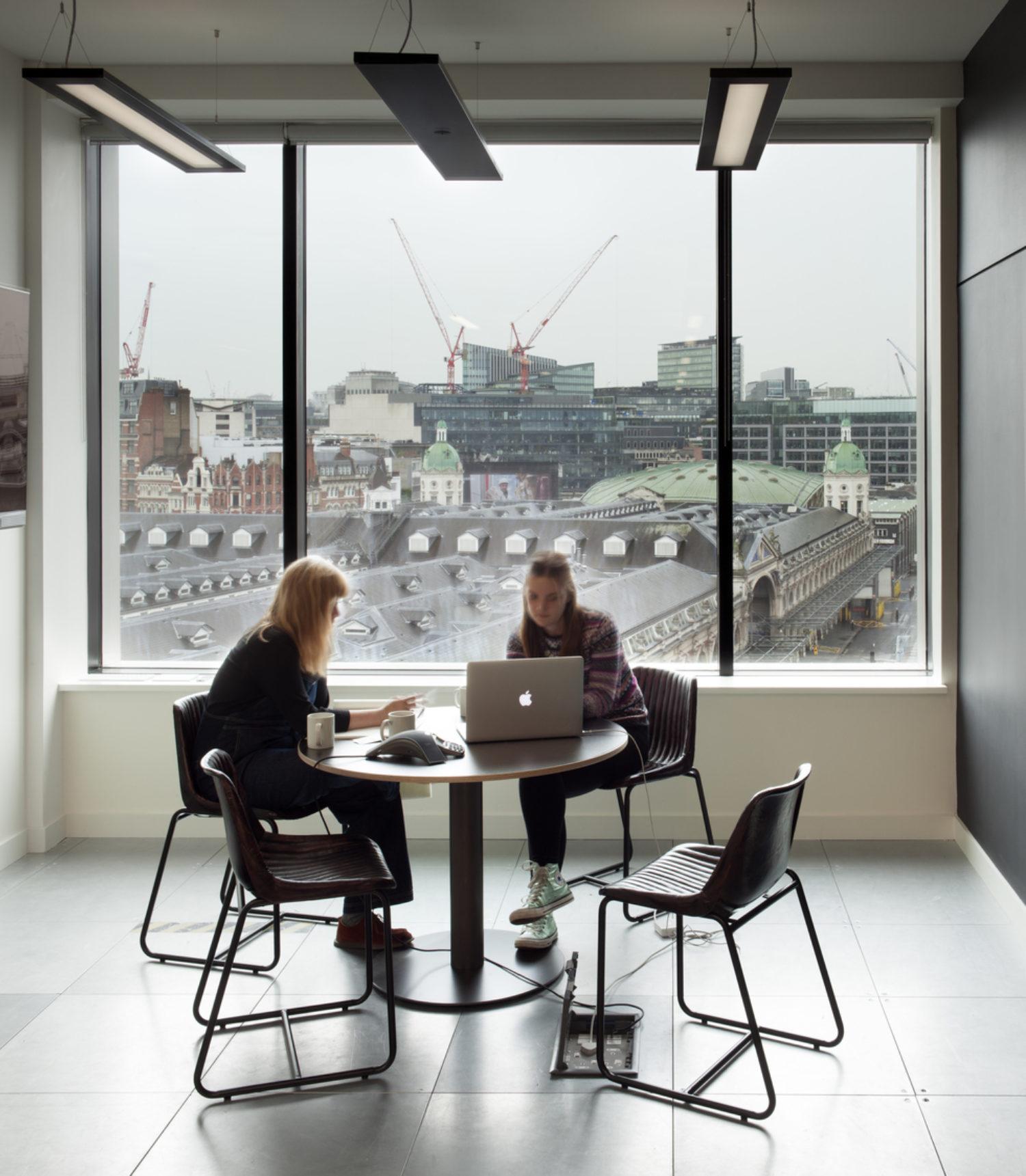 Natural light in meeting room design