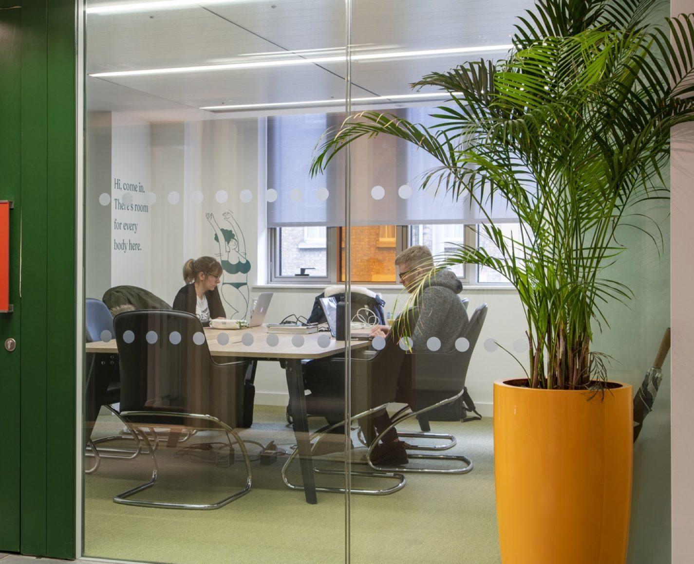 Biophilic design for workplace wellbeing