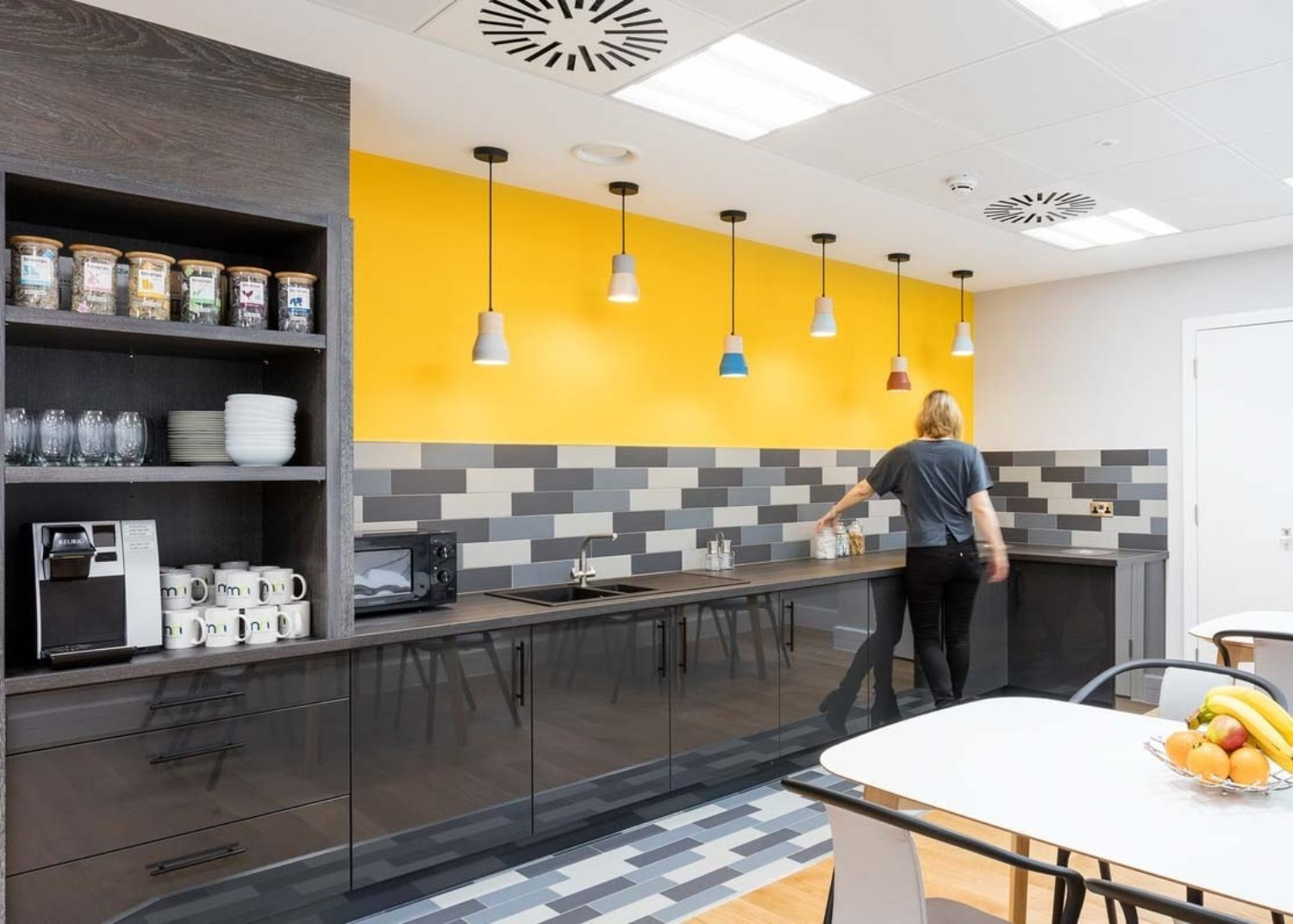 Cool office kitchen