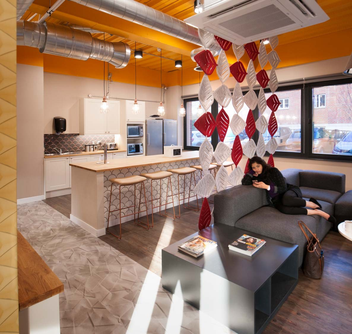 light filled office fit out