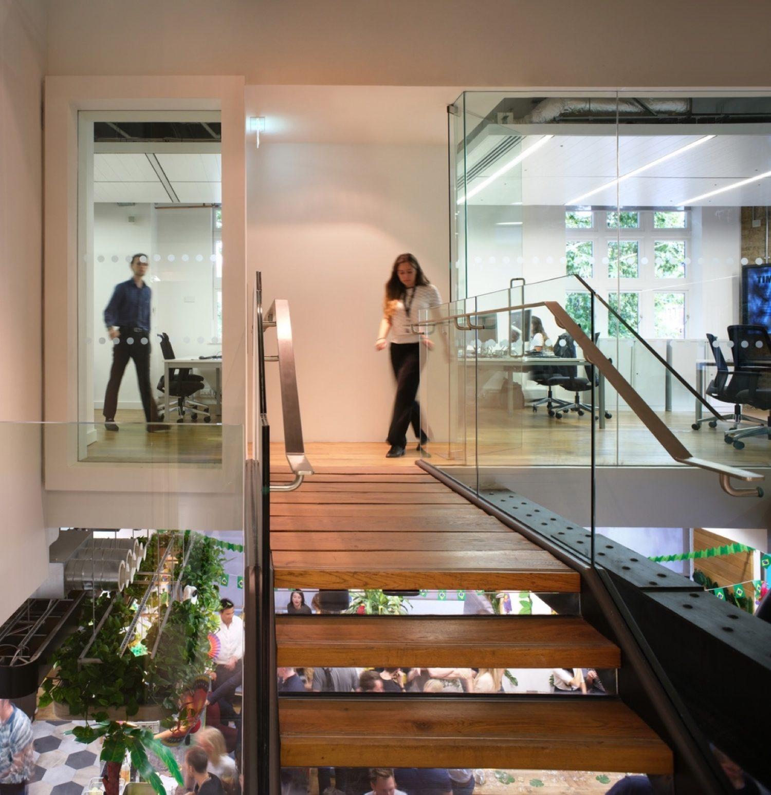 Body Shop biophilic office design