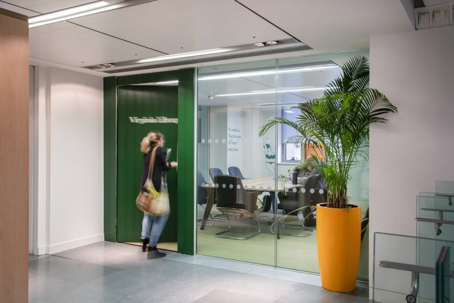 Body Shop office design for wellbeing