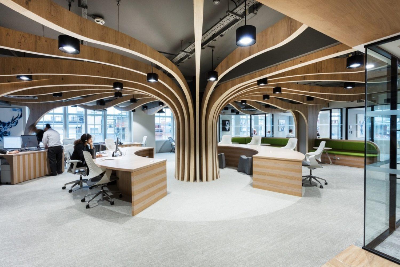 Morgan Sindall biophilia office design