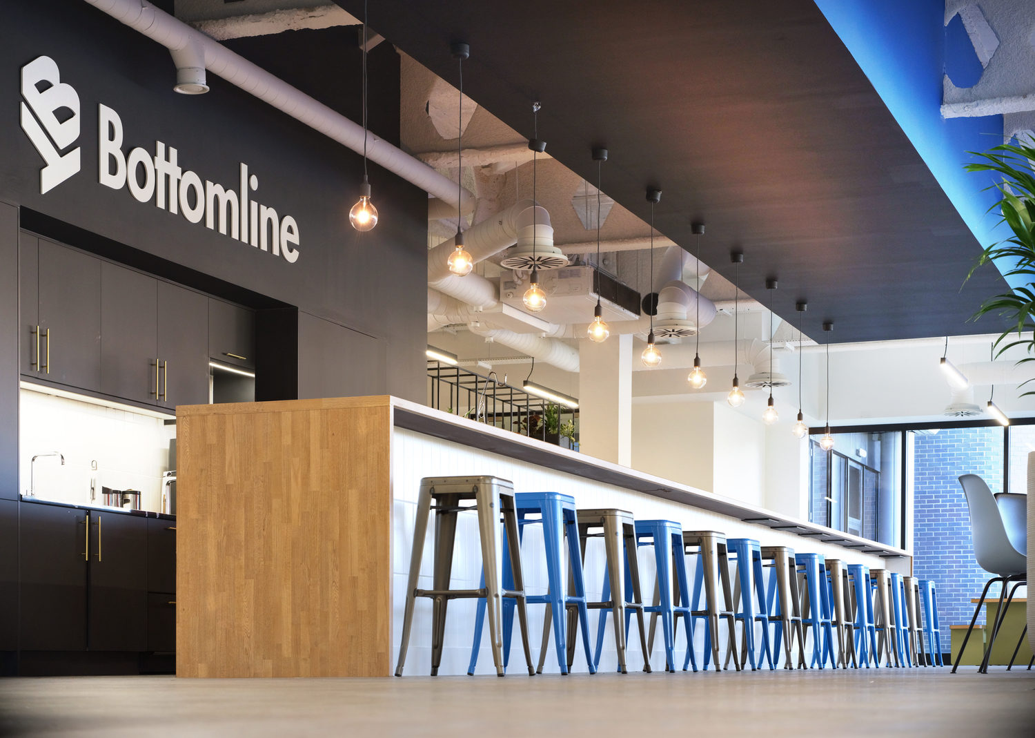 Bottomline staff cafe design