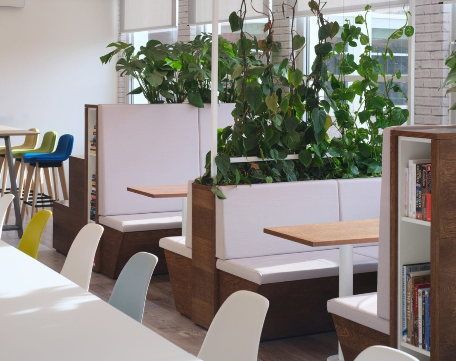 Sage Publishing biophilic office design